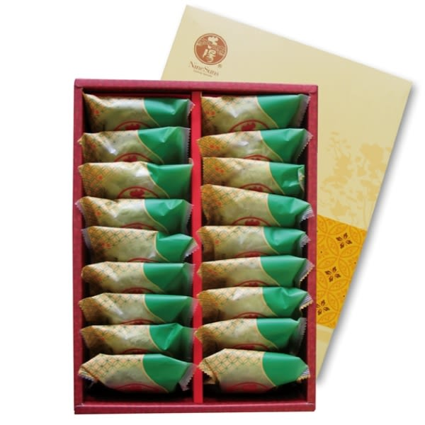 【九個太陽】超人氣日式抹茶太陽餅18入禮盒(全素) 含運價530元