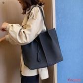 大容量包包 女年新款高級感包包洋氣大容量女包時尚百搭子母包單肩包 4色