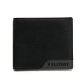 PLAYBOY- 基本短夾 gray&black系列 -灰色