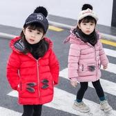 女寶寶加厚棉衣 新款女寶寶羽絨服 女童秋冬裝 童裝金絲絨棉襖 洋氣棉服外套