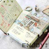 雙12狂歡購 旅行手賬本2018手帳本創意文藝小清新韓國日式可愛彩頁復古記事本