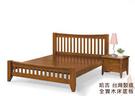【班尼斯國際名床】哈吉 天然100%全實木床架。3.5尺單人加大(訂做款無退換貨)
