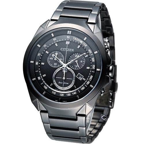 星辰錶CITIZEN Eco-Drive未來時尚計時腕錶  AT2155-58E