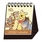 正版 2022年 迪士尼系列 迷你精巧桌曆 迷你桌曆 小桌曆 行事曆 小熊維尼款 COCOS A2022