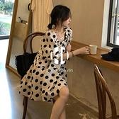 孕婦裝夏裝上衣大碼春裝夏季小清新中長款孕婦連身裙夏天裙子【Kacey Devlin】