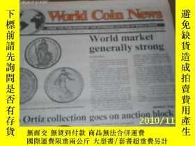 二手書博民逛書店World罕見Coin News(Vol.18,No.17)(A