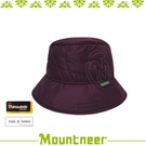 【Mountneer 山林 中性 3M鋪棉保暖筒帽《紫紅》】12H06/遮陽帽/快乾防寒帽/防風保暖