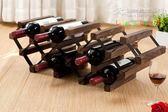 簡易組裝酒架出日本原單日式燒桐實木紅酒架 時尚創意歐式紅酒架 YL-WTSX203