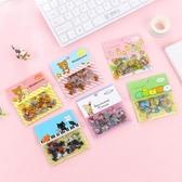 韓國創意小清新角落生物貼紙透明卡通可愛貼紙包手賬裝飾貼