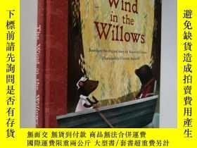 二手書博民逛書店The罕見Wind in the Willows 柳林風聲 英文原版 彩圖精裝 大開本 看圖以圖片為準Y308