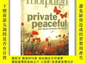二手書博民逛書店柑橘與檸檬啊罕見英文原版 文學小說 Private Peacef