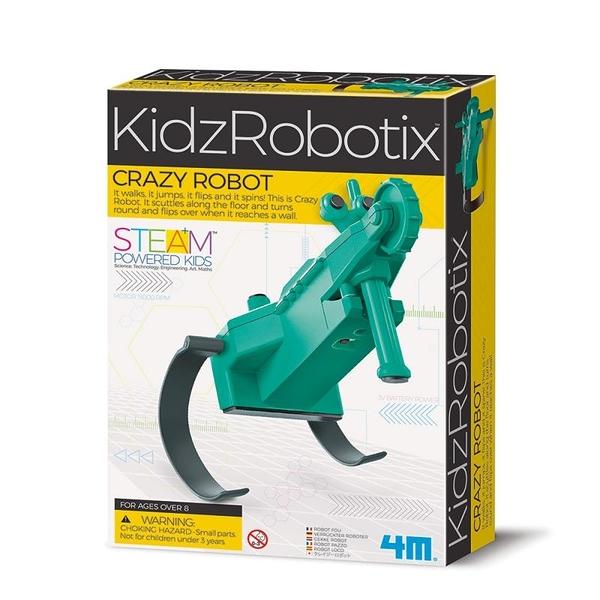蹦跳機器人 Crazy Robot 香港4M 益智玩具 適合8歲以上 自己動手組裝