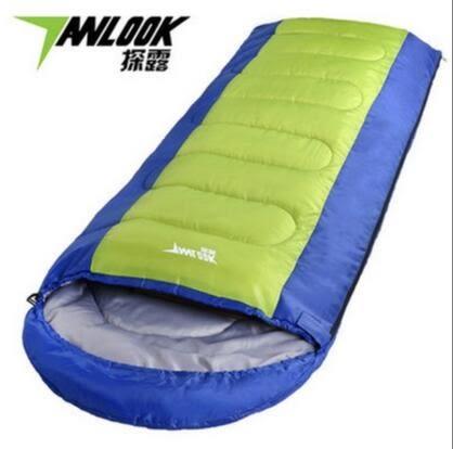 羽絨棉睡袋成人冬天防寒家用睡帶室內午睡保暖中空棉戶外露營裝備