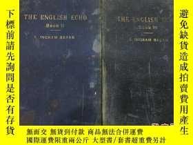 二手書博民逛書店the罕見English echo book2.3 兩冊合售 有