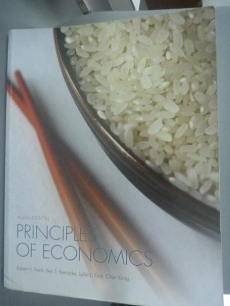 【書寶二手書T7/大學商學_ZGO】Principles of Economics_Frank