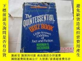 二手書博民逛書店THE罕見QUINTESSENTIAL QUIZ BOOK【73