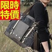 帆布包-多隔層新款作舊可肩背男手提包2色59j63【巴黎精品】