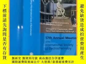 二手書博民逛書店英文書罕見book of abstracts 57th annual meeting of the interma