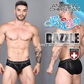 美國 ANDREW CHRISTIAN 酷炫赤裸囊袋低腰三角褲 DAZZLE BRIEF WITH ALMOST NAKED