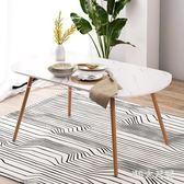 實木餐桌家用飯桌大理石紋小戶型餐桌長方形實用餐桌 QQ29674『MG大尺碼』
