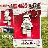 樂高鑰匙圈 星際大戰 STAR WARS 白兵 白武士 人偶造型LED鑰匙圈鎖圈 盒裝 COCOS LG320