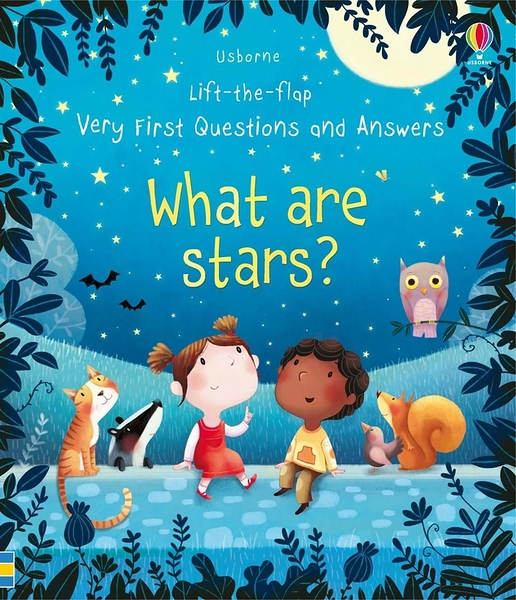 Lift-The-Flap Very First Questions And Answers What Are Stars 星星是什麼? 翻翻學習書 精裝本