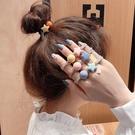 【NiNi Me】韓系髮飾 氣質甜美星星圓珠可愛髮束 髮束 H9481