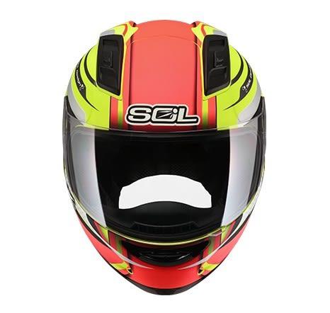 SOL安全帽,68S,69S,幻象/消光螢光黃紅