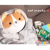 柯基公仔柴犬抱枕睡覺抱的布娃娃床上懶人抱玩偶女可愛狗毛絨玩具