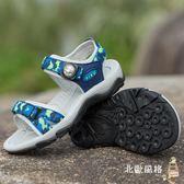 雙11瘋狂購-兒童涼鞋男童涼鞋新品正韓夏季中大童學生小男孩童鞋子防滑兒童沙灘鞋