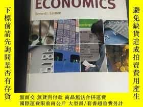 二手書博民逛書店ECONOMICS罕見Seventh Edition 經濟學 第