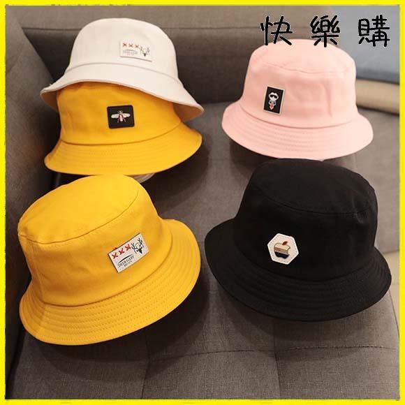 兒童棉帽-兒童帽子漁夫帽韓版
