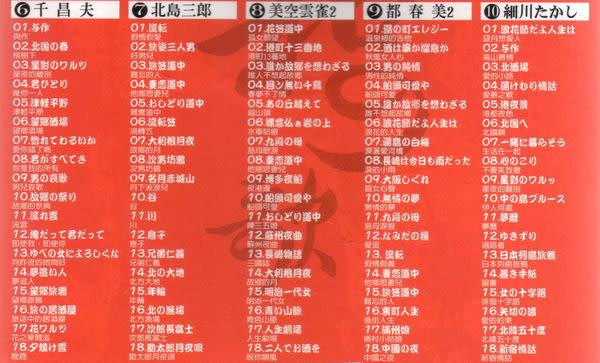昭和之歌 CD 十片裝合輯 昭和 歌 (購潮8)