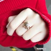 戒指古風戒指女食指指環日韓大氣潮人小指學生簡約個性復古風chic尾戒  凱斯盾數位3c