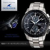 【人文行旅】OCEANUS   OCW-T1010-1A 高科技智慧電波錶