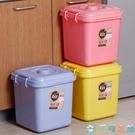 貓狗糧食寵物儲糧桶狗糧盒儲存罐子寵物口糧容器【千尋之旅】