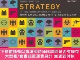 二手書博民逛書店Strategy罕見In The Contemporary WorldY464532 John Baylis;