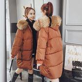 大尺碼外套 棉衣中長款200斤加肥加大棉服棉包服冬季女裝