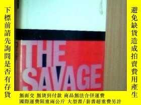 二手書博民逛書店Savage罕見MindY256260 Claude Levi-strauss University Of C