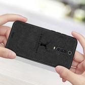 小米9T 手機殼 卡通 麋鹿 布紋殼 全包 軟殼 經典 麋鹿 布紋 保護套 全包 磨砂  軟殼 經典版