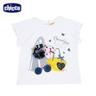chicco-時尚派對-立體包包短袖上衣