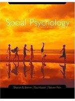 二手書博民逛書店《Social Psychology Sixth Edition