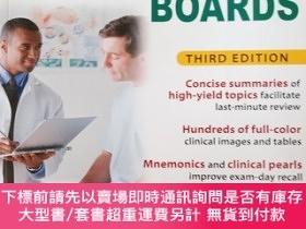 二手書博民逛書店【外文原版】罕見First Aid for the Internal Medicine Boards, 3rd E