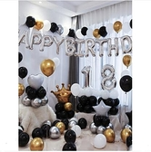周歲生日裝飾場景佈置快樂氣球派對裝飾品寶寶兒童背景牆女孩男生 設計師新品