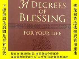 二手書博民逛書店31罕見Decrees of Blessing for Your