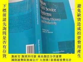 二手書博民逛書店Asian罕見Civil Service Systems:Imp