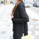 梨卡 - 甜美氣質純色顯瘦口袋針織外套/3色DR048