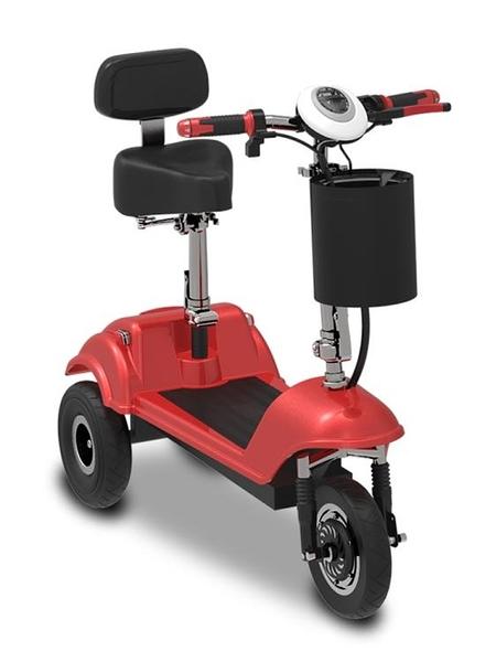 小型電動三輪車成人迷你網紅電瓶車鋰電池女性代步車接送孩子新款 MKS快速出貨