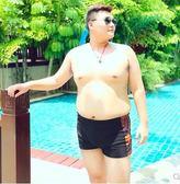 男士寬鬆舒適溫泉沙灘加大碼平角泳褲PLL3177【男人與流行】