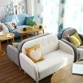 簡約休閒甜品蛋糕店奶茶店桌椅組合咖啡廳休息區雙人沙發 露露日記